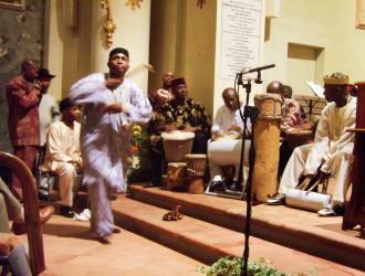 Le percussioni di Nzuko Di Igbo - foto di Silvia Perucchetti