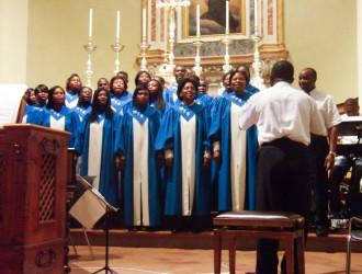 Il coro gospel More than Conquerors - foto di Silvia Perucchetti